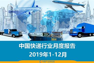 2019年1-12月中国快递物流行业月度报告(完整版)