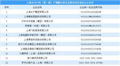 上海市2019年(第一批)产教融合型企业建设培育试点公示名单发布