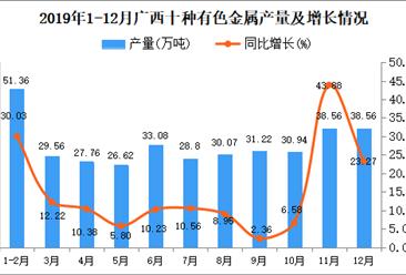 2019年广西十种有色金属产量为373.77万吨 同比增长17.75%