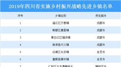 2019年四川省实施乡村振兴战略先进乡镇布局分析及名单汇总(图表)