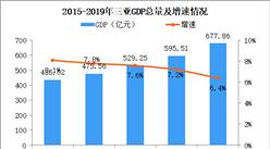 2019年三亚统计公报:GDP总量678亿 户籍人口增加1.97万(附图表)