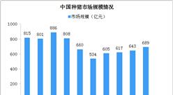 2020年中国种猪市场规模及发展趋势分析(图)