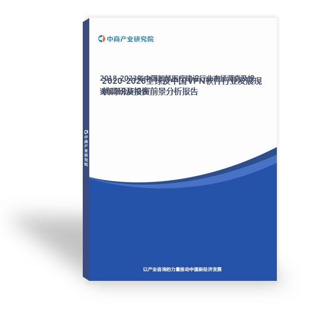 2020-2026全球及中國VPN軟件行業發展現狀調研及投資前景分析報告