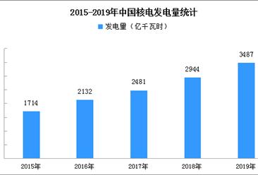 2019年中国核电产业运行分析:发电量3487亿千瓦时 同比增长18.4%(附图表)
