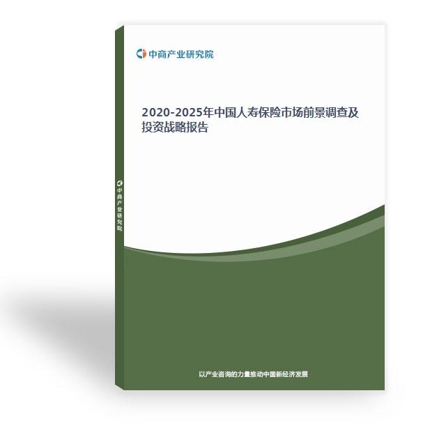 2020-2025年中国人寿保险市场前景调查及投资战略报告