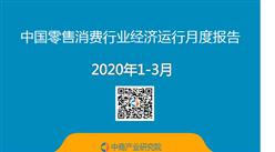 2020年1-3月中国零售消费行业经济运行月度报告(附全文)