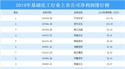 2020年基础化工行业上市公司净利润排行榜:万华化学最赚钱(附排名)