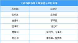 云南首批全域旅游示范区名单公布:共21地入选(附完整名单)