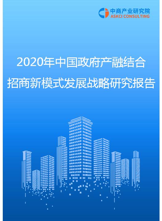 2020年中国政府产融结合招商新模式发展战略研究报告