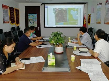 中商产业研究院赴山东济宁市太白湖新区开展项目编制调研工作