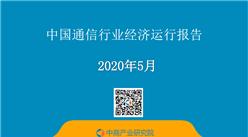 2020年1-5月中國通信行業經濟運行月度報告(附全文)