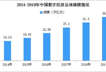 中国数字产业结构持续软化 2019年数字经济产业规模达35.8万亿元