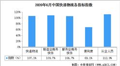 2020年6月中国快递物流指数107.1%(附全国物流开发区一览)