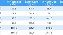 2020年6月旭辉控股销售简报:销售额同比增长12.49%(附图表)
