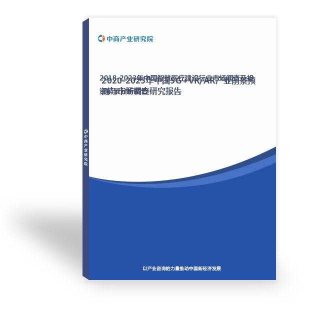 2020-2025年中國5G+VR/AR產業前景預測與市場調查研究報告