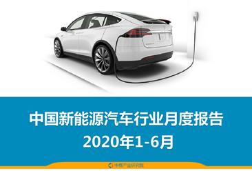 2020年1-6月中国新能源汽车行业月度报告(完整版)