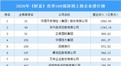 2020年《财富》世界500强深圳上榜企业排行榜