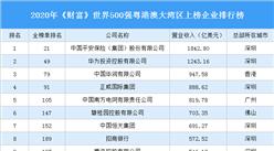 2020年《财富》世界500强粤港澳大湾区上榜企业排行榜
