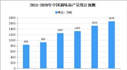 2020年中国调味品行业存在问题及发展前景预测分析