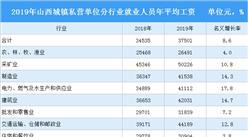 2019年山西省城镇私营单位平均工资情况分析(图)