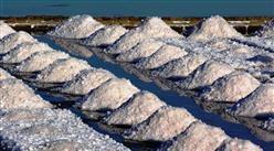 2020年1-7月全國原鹽產量為2820萬噸 同比下降3.6%