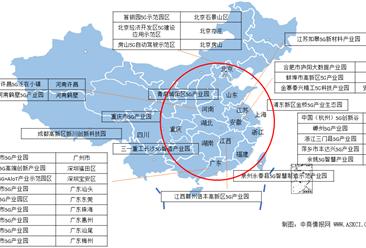 广东新增五个5G产业园区  2020年全国最新5G产业园分布地图一览(图)