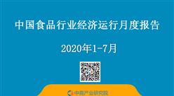 2020年1-7月中国食品行业经济运行月度报告(附全文)