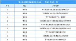 第二批全国乡村旅游重点村名单出炉:青海20个乡村入选(附名单)