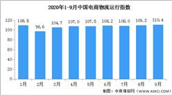 2020年9月中国电商物流运行指数110.4点(附全国电商开发区一览)