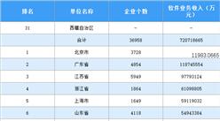 中国软件行业区域发展差异明显 北京仍是软件业务收入第一城(图)