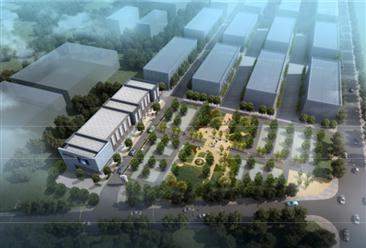 江苏东台镇电子商务产业园项目案例