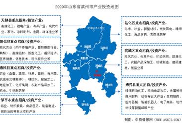 2020年滨州预期实现招商引资400亿元 十强产业重点领域及发展目标一览 (图)