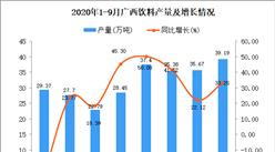 2020年9月广西饮料产量数据统计分析