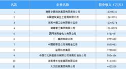 2020湖南企业100强榜单(附完整榜单)