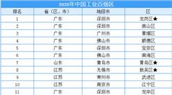 2020年中國工業百強區名單出爐:深圳市龍崗區位列榜首(附榜單)