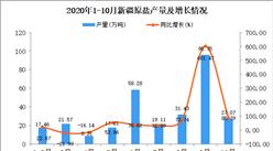 2020年10月新疆原盐产量数据统计分析