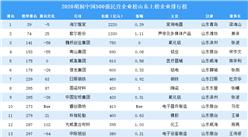 2020胡润中国500强民营企业榜山东上榜企业排行榜(附榜单)