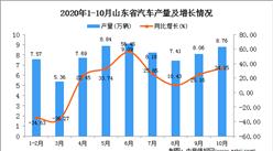 2020年10月山东省汽车数据统计分析