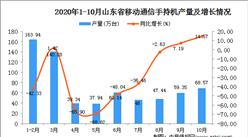 2020年10月山东省手机数据统计分析