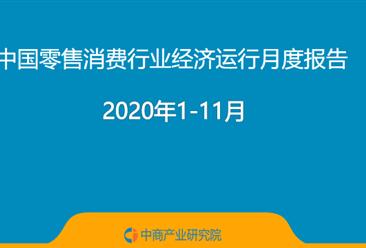 2020年1-11月中国零售消费行业经济运行月度报告(附全文)