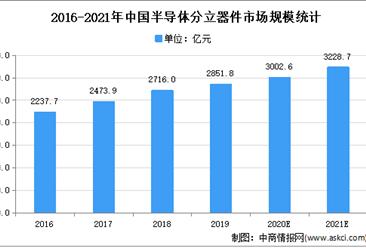 2021年中国半导体分立器件行业下游应用领域市场分析