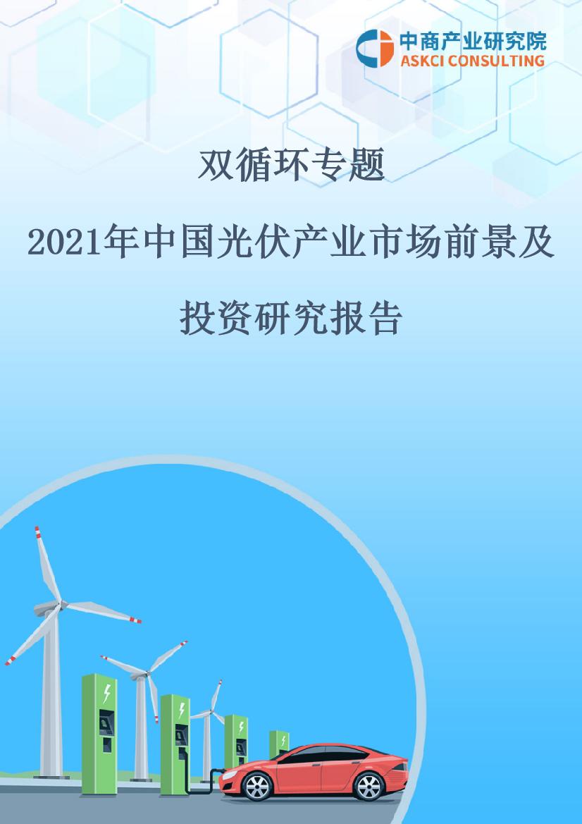 双循环专题——2021年中国光伏产业市场前景及投资研究报告