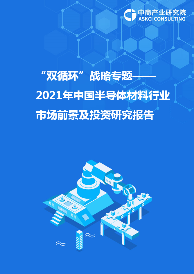 """""""双循环""""战略专题——2021年中国半导体材料行业市场前景及投资研究报告"""