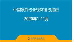 2020年1-11月中国软件行业经济运行报告(附全文)