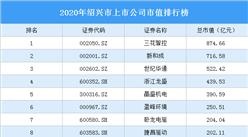 63家紹興A股上市公司2020年市值:3家上市公司市值超500億(圖)