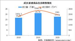 2020年武汉房地产市场回顾:新房成交量居全国第一(图)