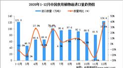 2020年12月中国食用植物油进口数据统计分析