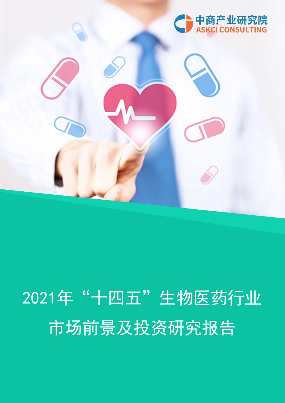 """2021年""""十四五""""中国生物医药行业市场前景及投资研究报告"""