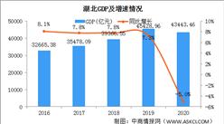 2020年湖北经济运行情况分析:GDP同比下降5% (图)