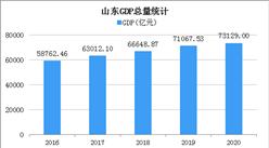 快讯:2020年山东GDP总量73129亿 同比增长3.6%(图)